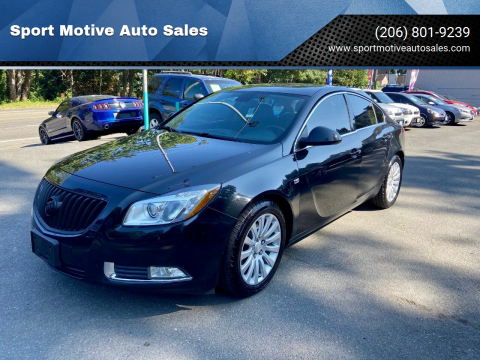 2011 Buick Regal for sale at Sport Motive Auto Sales in Seattle WA