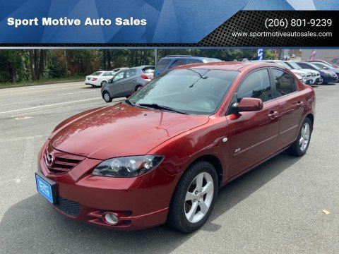2006 Mazda MAZDA3 for sale at Sport Motive Auto Sales in Seattle WA