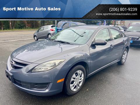 2010 Mazda MAZDA6 for sale at Sport Motive Auto Sales in Seattle WA