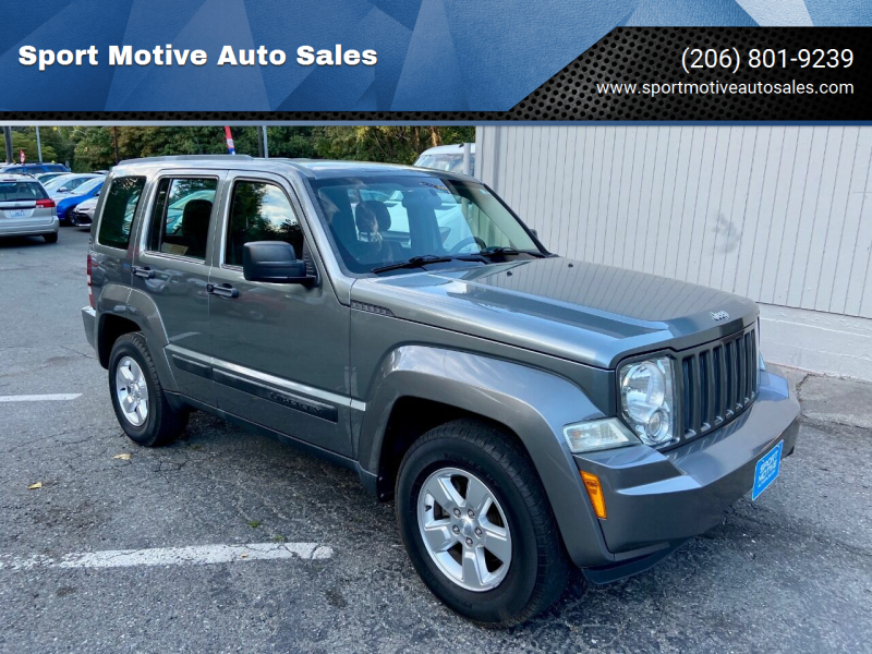 2012 Jeep Liberty for sale at Sport Motive Auto Sales in Seattle WA