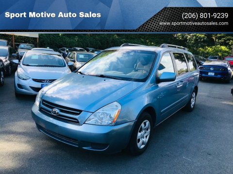 2006 Kia Sedona for sale at Sport Motive Auto Sales in Seattle WA