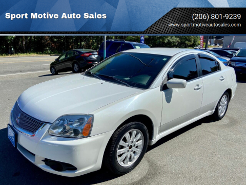 2012 Mitsubishi Galant for sale at Sport Motive Auto Sales in Seattle WA