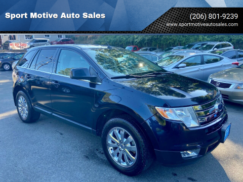 2008 Ford Edge for sale at Sport Motive Auto Sales in Seattle WA