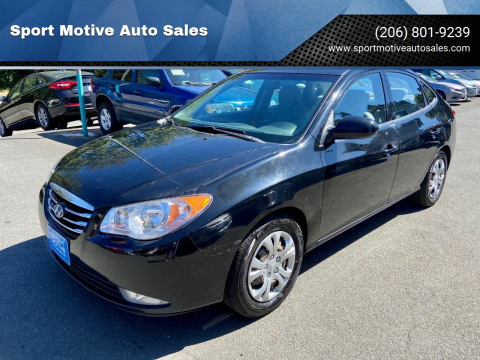 2010 Hyundai Elantra for sale at Sport Motive Auto Sales in Seattle WA