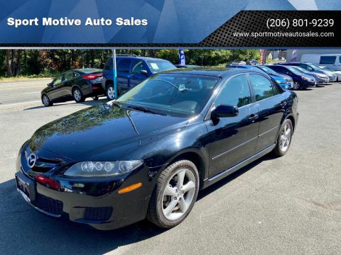 2008 Mazda MAZDA6 for sale at Sport Motive Auto Sales in Seattle WA