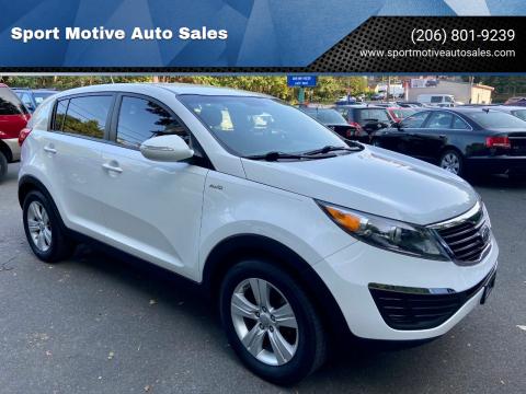 2012 Kia Sportage for sale at Sport Motive Auto Sales in Seattle WA
