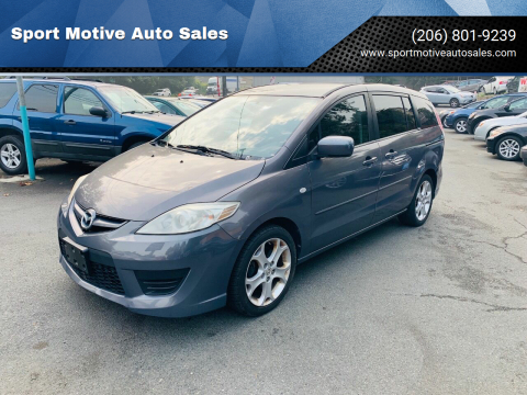 2008 Mazda MAZDA5 for sale at Sport Motive Auto Sales in Seattle WA