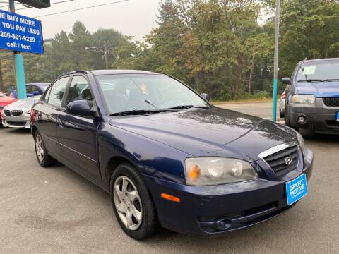 2004 Hyundai Elantra for sale at Sport Motive Auto Sales in Seattle WA