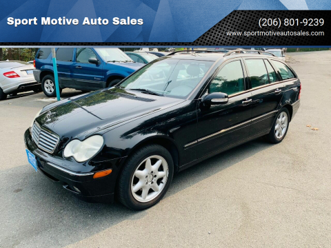 2003 Mercedes-Benz C-Class for sale at Sport Motive Auto Sales in Seattle WA