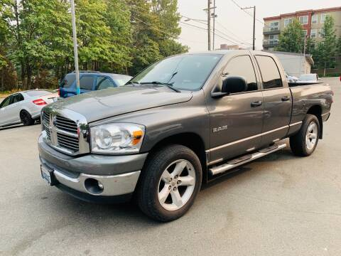 2008 Dodge Ram Pickup 1500 for sale at Sport Motive Auto Sales in Seattle WA