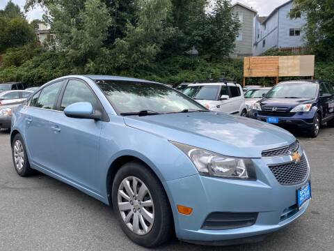 2011 Chevrolet Cruze for sale at Sport Motive Auto Sales in Seattle WA