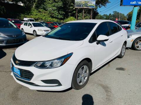 2018 Chevrolet Cruze for sale at Sport Motive Auto Sales in Seattle WA
