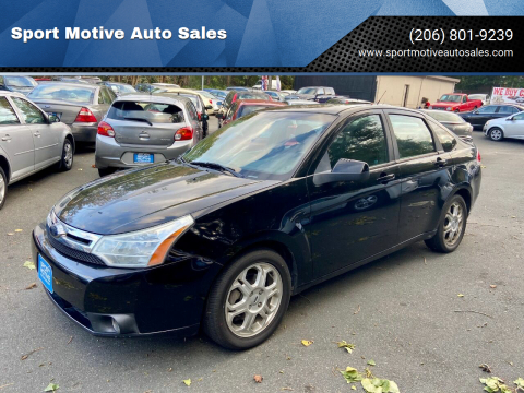 2009 Ford Focus for sale at Sport Motive Auto Sales in Seattle WA