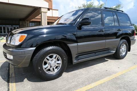 2002 Lexus LX 470 for sale at Louisiana Truck Source, LLC in Houma LA
