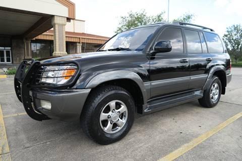2002 Toyota Land Cruiser for sale at Louisiana Truck Source, LLC in Houma LA
