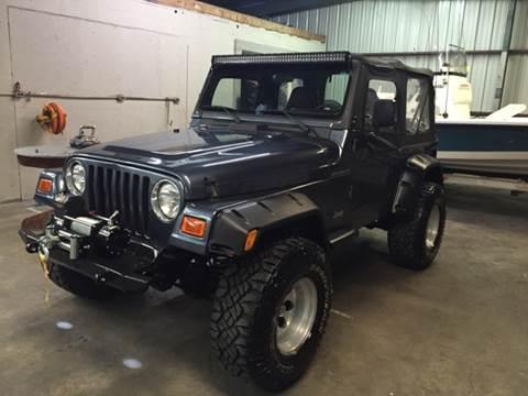 2001 Jeep Wrangler for sale at Louisiana Truck Source, LLC in Houma LA