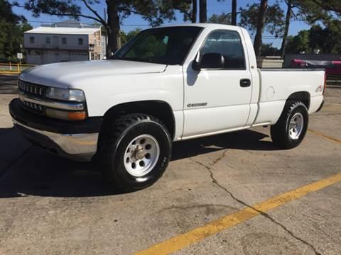 2000 Chevrolet Silverado 1500 for sale at Louisiana Truck Source, LLC in Houma LA