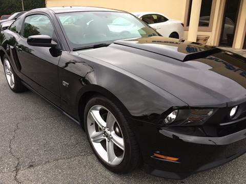 2010 Ford Mustang for sale at Highlands Luxury Cars, Inc. in Marietta GA