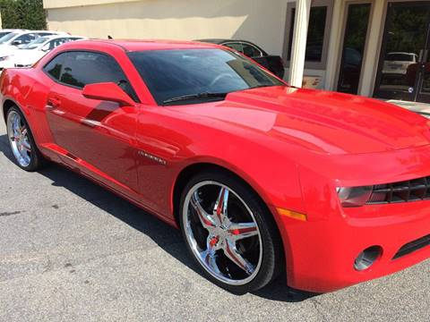 2011 Chevrolet Camaro for sale at Highlands Luxury Cars, Inc. in Marietta GA
