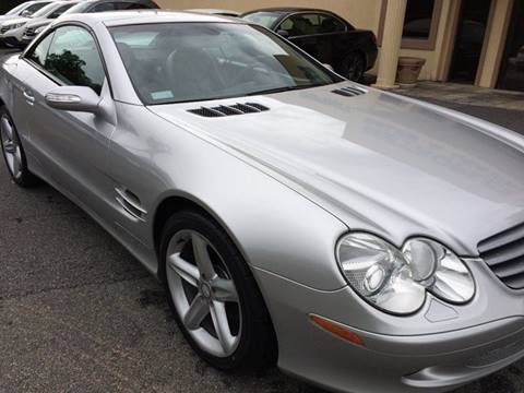 2004 Mercedes-Benz SL-Class for sale at Highlands Luxury Cars, Inc. in Marietta GA