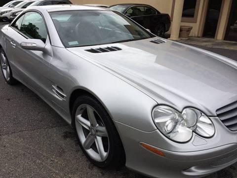 2004 Mercedes-Benz SL-Class for sale at Highlands Luxury Cars, Inc. in Marietta GA