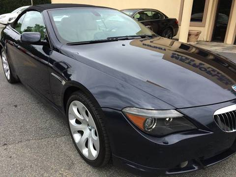 2006 BMW 6 Series for sale at Highlands Luxury Cars, Inc. in Marietta GA