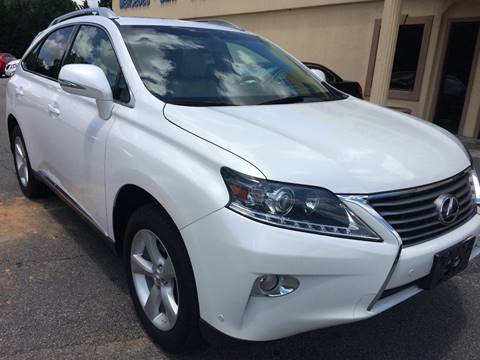 2013 Lexus RX 350 for sale at Highlands Luxury Cars, Inc. in Marietta GA
