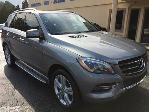 2013 Mercedes-Benz M-Class for sale at Highlands Luxury Cars, Inc. in Marietta GA