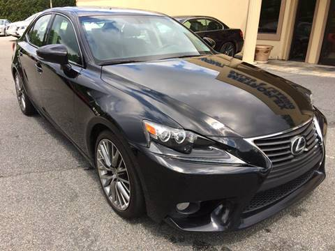 2014 Lexus IS 250 for sale at Highlands Luxury Cars, Inc. in Marietta GA
