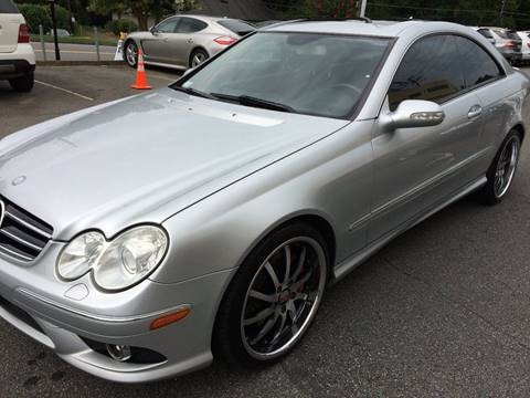 2009 Mercedes-Benz CLK for sale at Highlands Luxury Cars, Inc. in Marietta GA