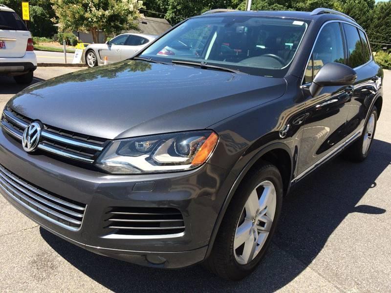 2012 Volkswagen Touareg for sale at Highlands Luxury Cars, Inc. in Marietta GA