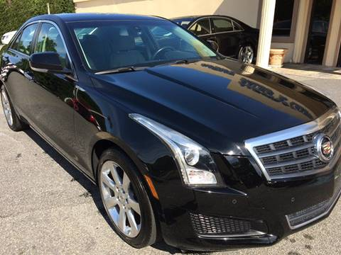 2013 Cadillac ATS for sale at Highlands Luxury Cars, Inc. in Marietta GA