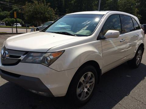 2007 Acura MDX for sale at Highlands Luxury Cars, Inc. in Marietta GA