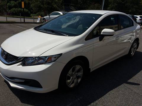 2014 Honda Civic for sale at Highlands Luxury Cars, Inc. in Marietta GA