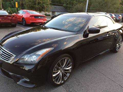 2011 Infiniti G37 Convertible for sale at Highlands Luxury Cars, Inc. in Marietta GA