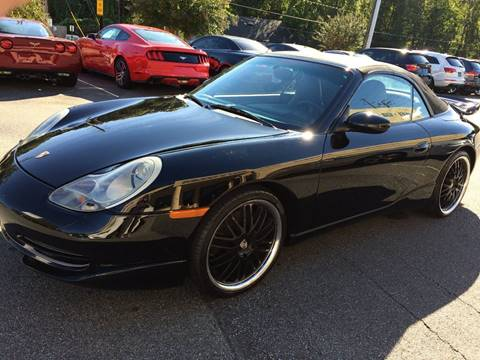 2001 Porsche 911 for sale at Highlands Luxury Cars, Inc. in Marietta GA