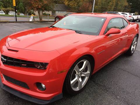 2013 Chevrolet Camaro for sale at Highlands Luxury Cars, Inc. in Marietta GA