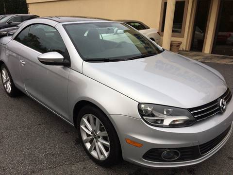 2015 Volkswagen Eos for sale at Highlands Luxury Cars, Inc. in Marietta GA