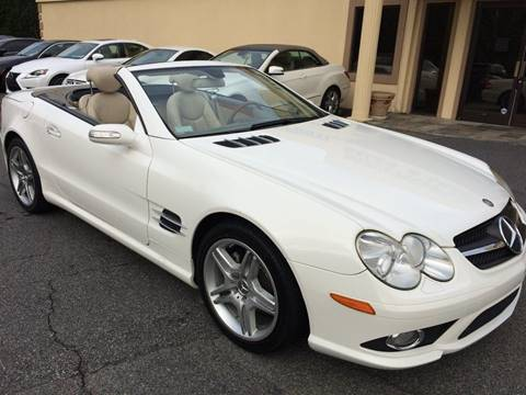 2007 Mercedes-Benz SL-Class for sale at Highlands Luxury Cars, Inc. in Marietta GA