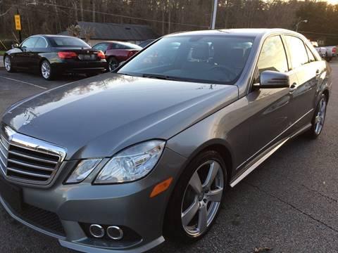 2010 Mercedes-Benz E-Class for sale at Highlands Luxury Cars, Inc. in Marietta GA