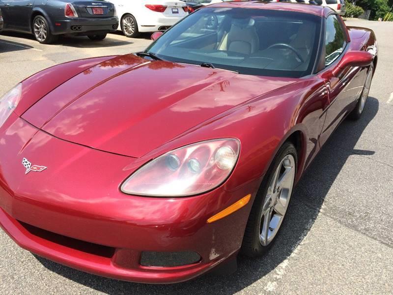 2007 Chevrolet Corvette for sale at Highlands Luxury Cars, Inc. in Marietta GA