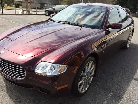 2006 Maserati Quattroporte for sale at Highlands Luxury Cars, Inc. in Marietta GA