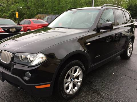 2009 BMW X3 for sale at Highlands Luxury Cars, Inc. in Marietta GA