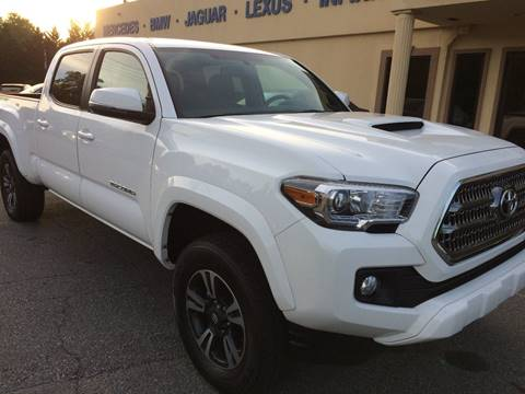 2017 Toyota Tacoma for sale at Highlands Luxury Cars, Inc. in Marietta GA