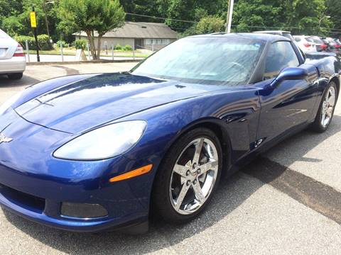 2007 Chevrolet Corvette for sale at Highlands Luxury Cars, Inc. in Marietta GA