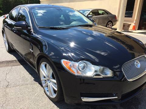 2010 Jaguar XF for sale at Highlands Luxury Cars, Inc. in Marietta GA