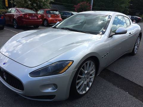 2009 Maserati GranTurismo for sale at Highlands Luxury Cars, Inc. in Marietta GA