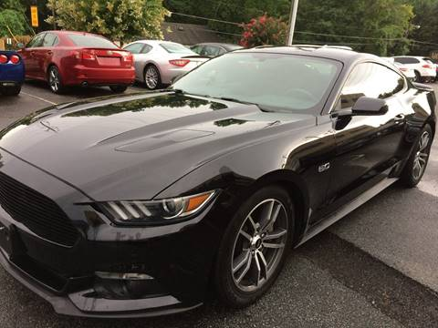 2015 Ford Mustang for sale at Highlands Luxury Cars, Inc. in Marietta GA