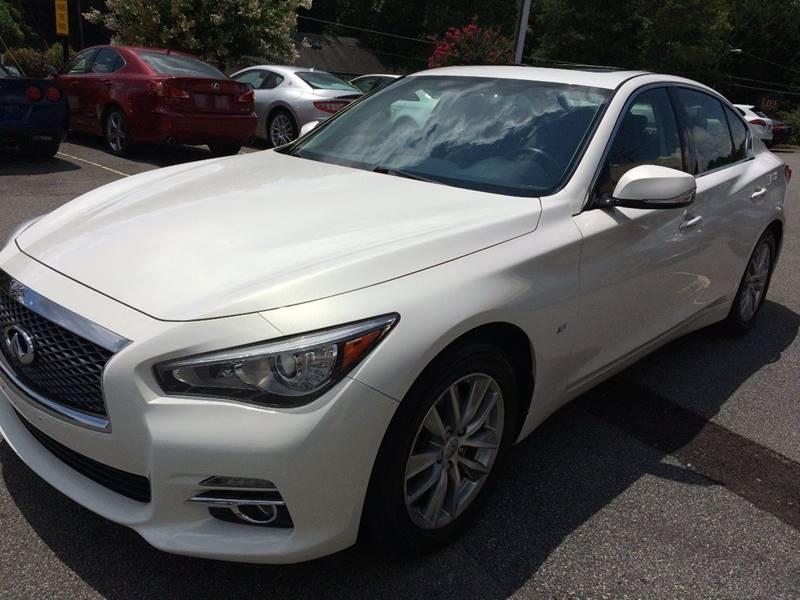 2014 Infiniti Q50 for sale at Highlands Luxury Cars, Inc. in Marietta GA