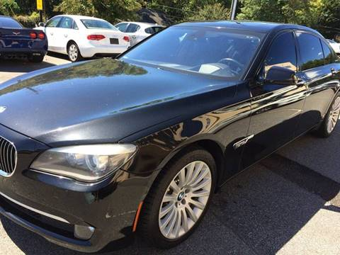 2012 BMW 7 Series for sale at Highlands Luxury Cars, Inc. in Marietta GA